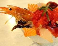 大阪の海鮮丼